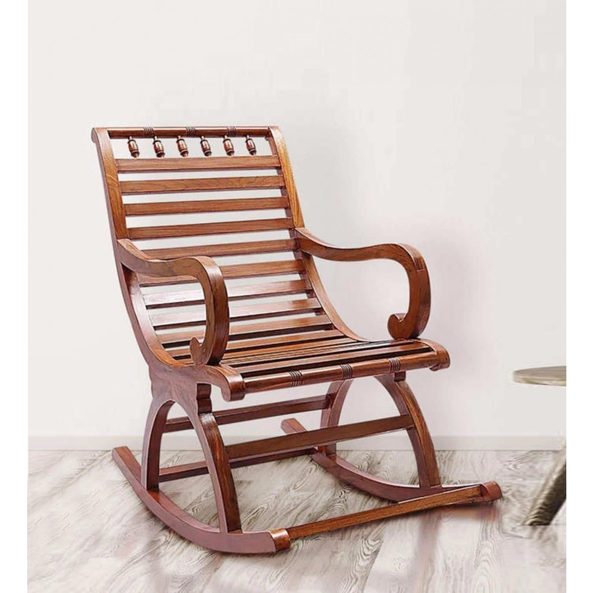 Best And Newest Helms Arm Chairs In Rocking Chairs Online  Shop Wooden Rocking Chair At Here !! (#2 of 20)