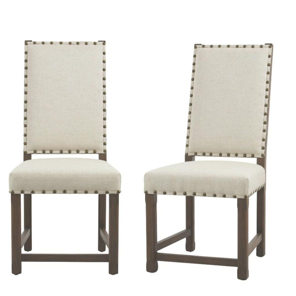 Best And Newest Home Decorators Collection Andrew Antique Grey Dining Chair (Set Of Inside Armless Oatmeal Dining Chairs (#6 of 20)