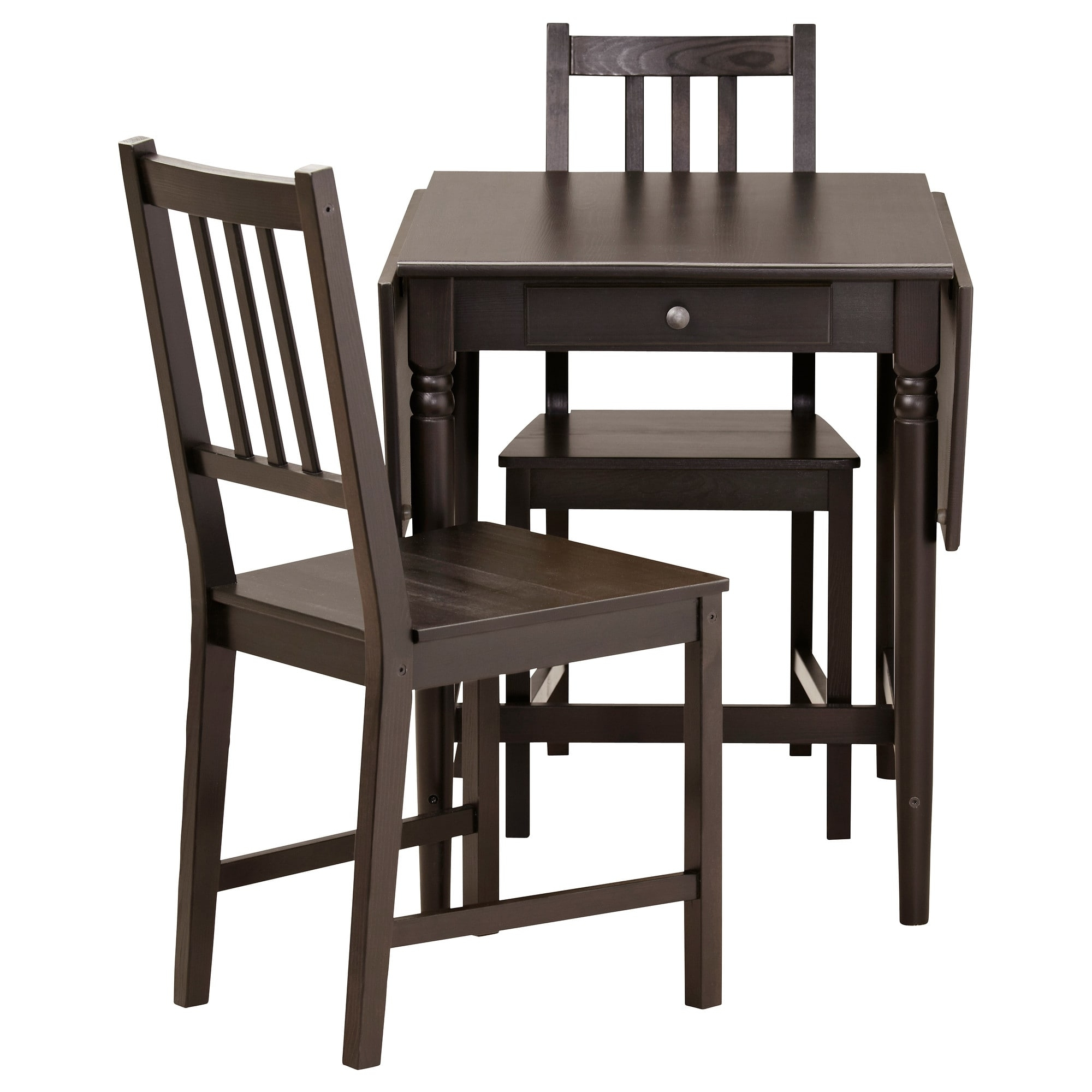 Best And Newest Ingatorp / Stefan Table And 2 Chairs – Ikea With Logan Side Chairs (#2 of 20)