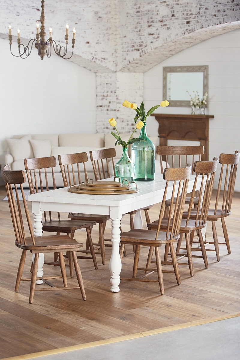 20 Collection Of Magnolia Home Kempton White Side Chairs Bjg
