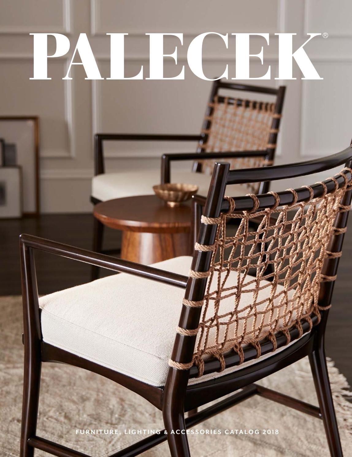 Best And Newest Palecek 2018 Furniture & Accessories Catalogpalecekdesign – Issuu Throughout Magnolia Home Emery Ivory Burlap Side Chairs (#3 of 20)