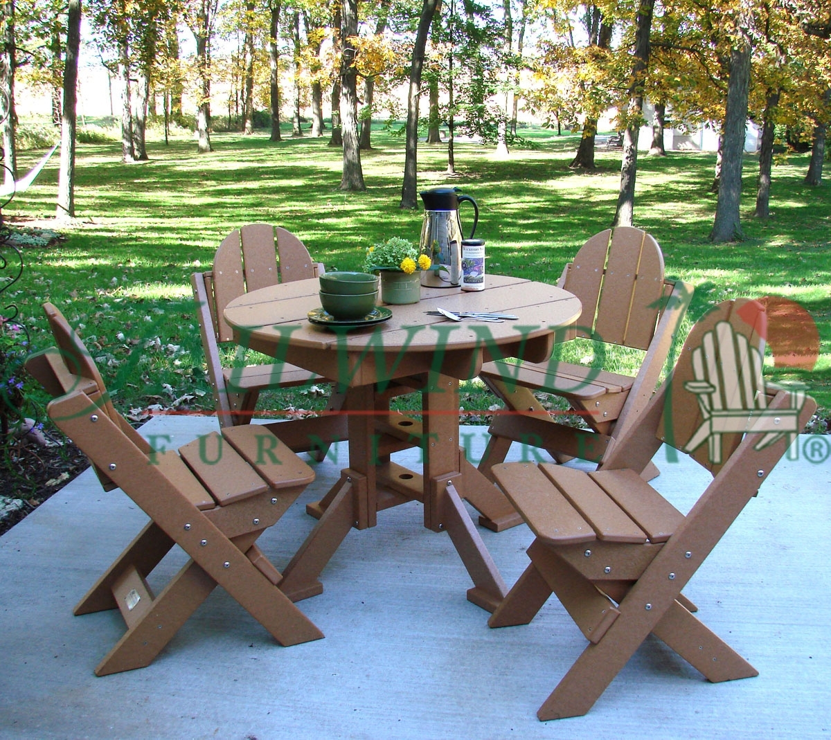Popular Photo of Green Cedar Dining Chairs