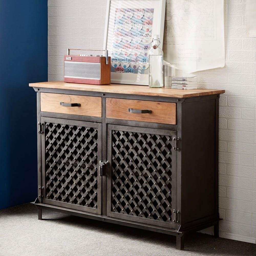 Best Industrial Sideboard Ideas — Rocket Uncle Rocket Uncle With 2017 Iron Sideboards (#4 of 20)