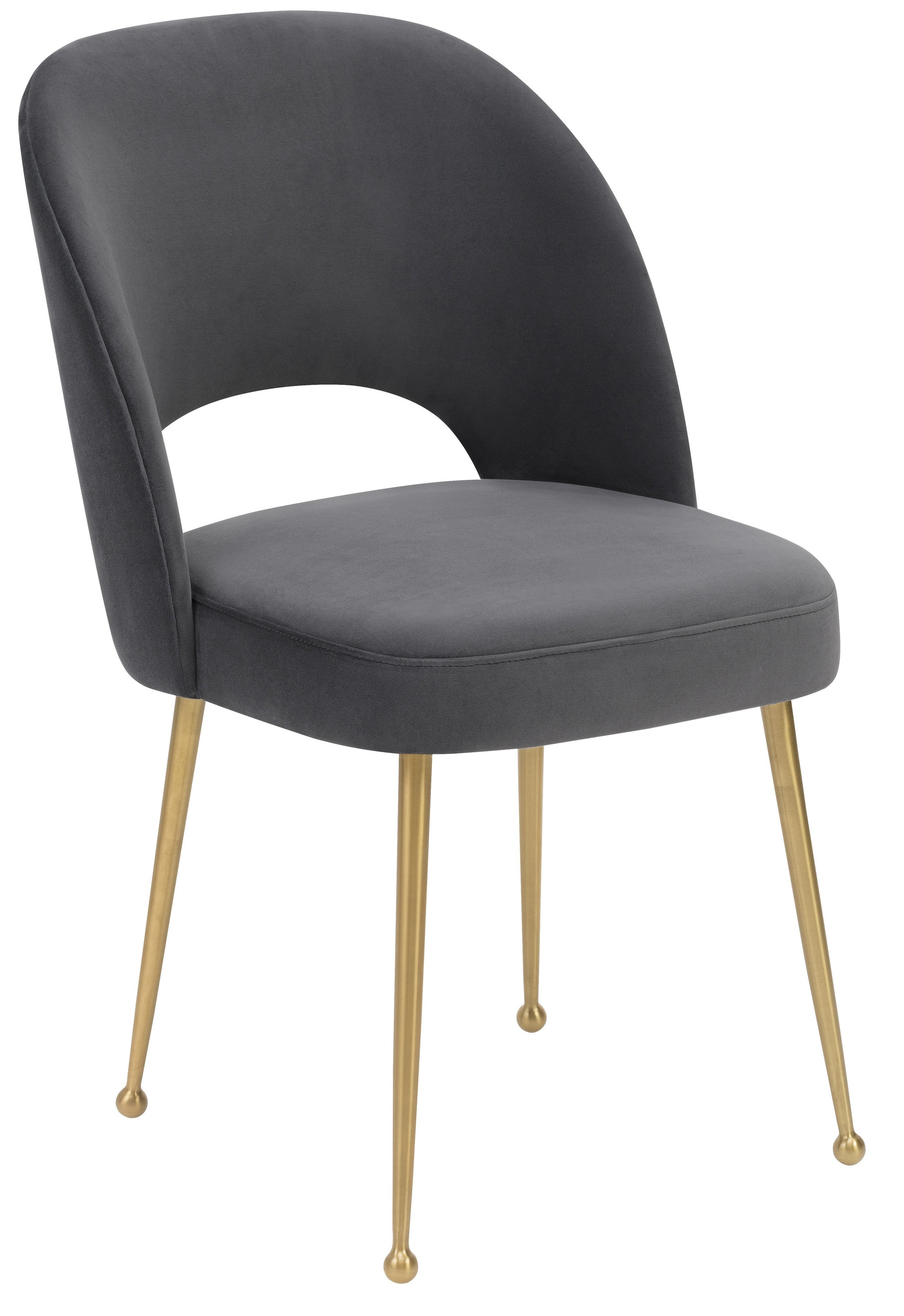 Betty Dining Chair, Charcoal With Regard To Well Known Charcoal Dining Chairs (#4 of 20)