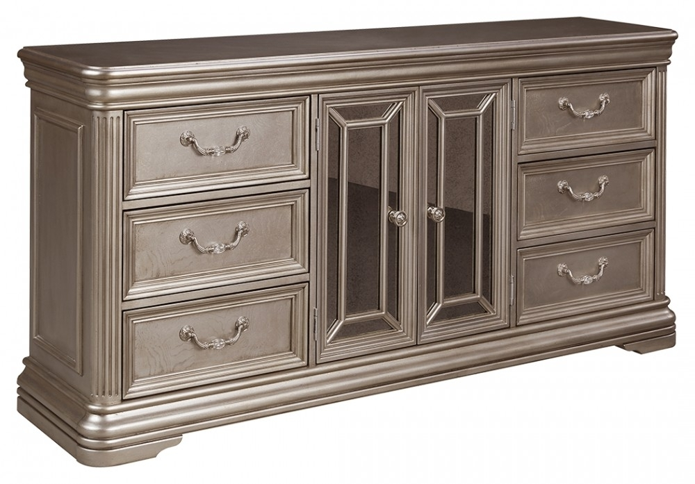 Birlanny Dresser | B720 31 | Dressers | Mirab Homestore And Intended For Newest Hartigan 2 Door Sideboards (View 8 of 20)