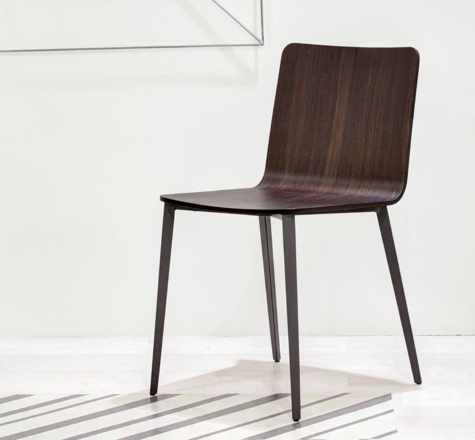 Bontempi Kate Dining Chair With Metal Legs (#3 of 20)