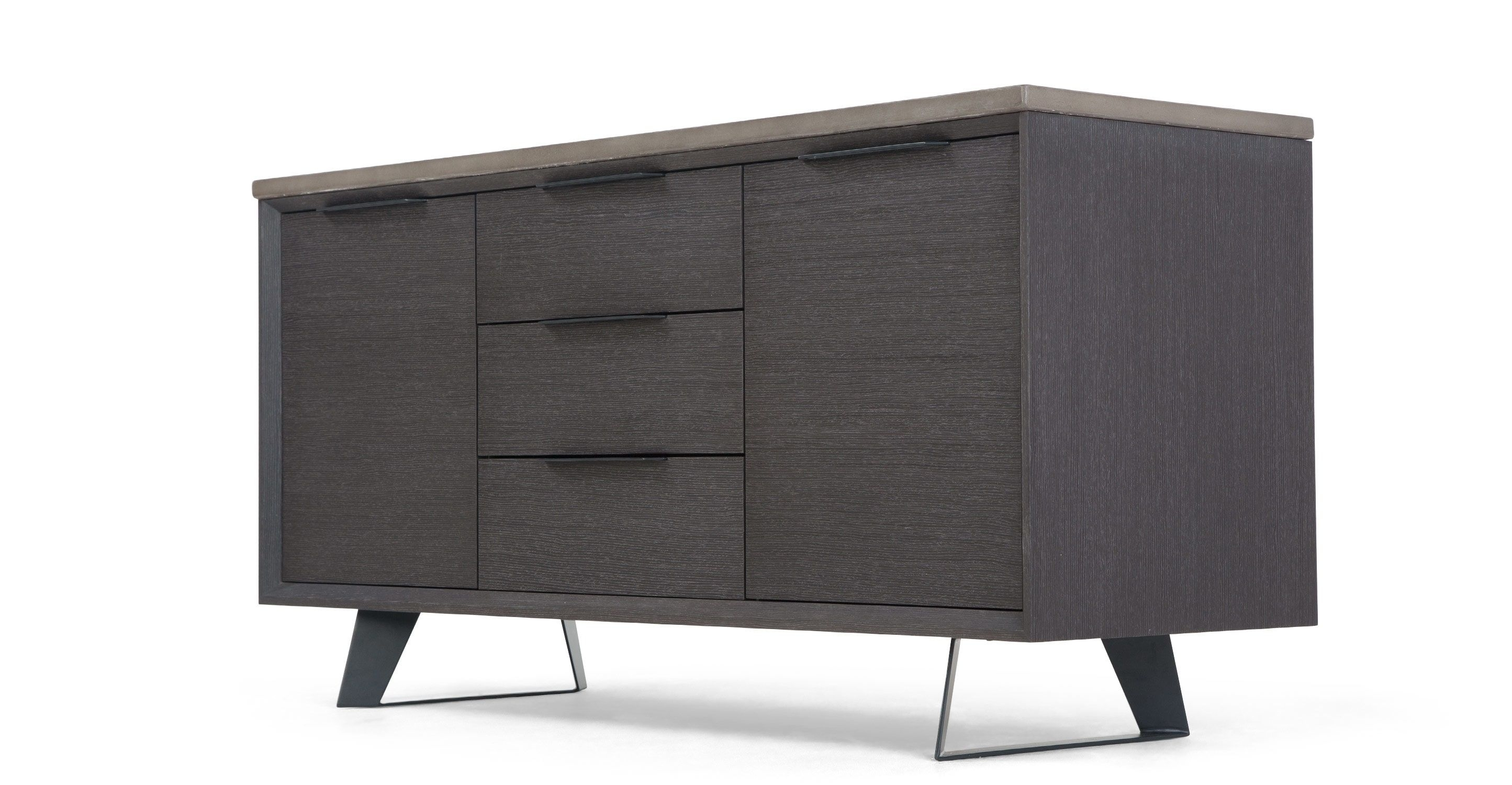 Boone Sideboard, Concrete Resin Top From Made (View 15 of 20)