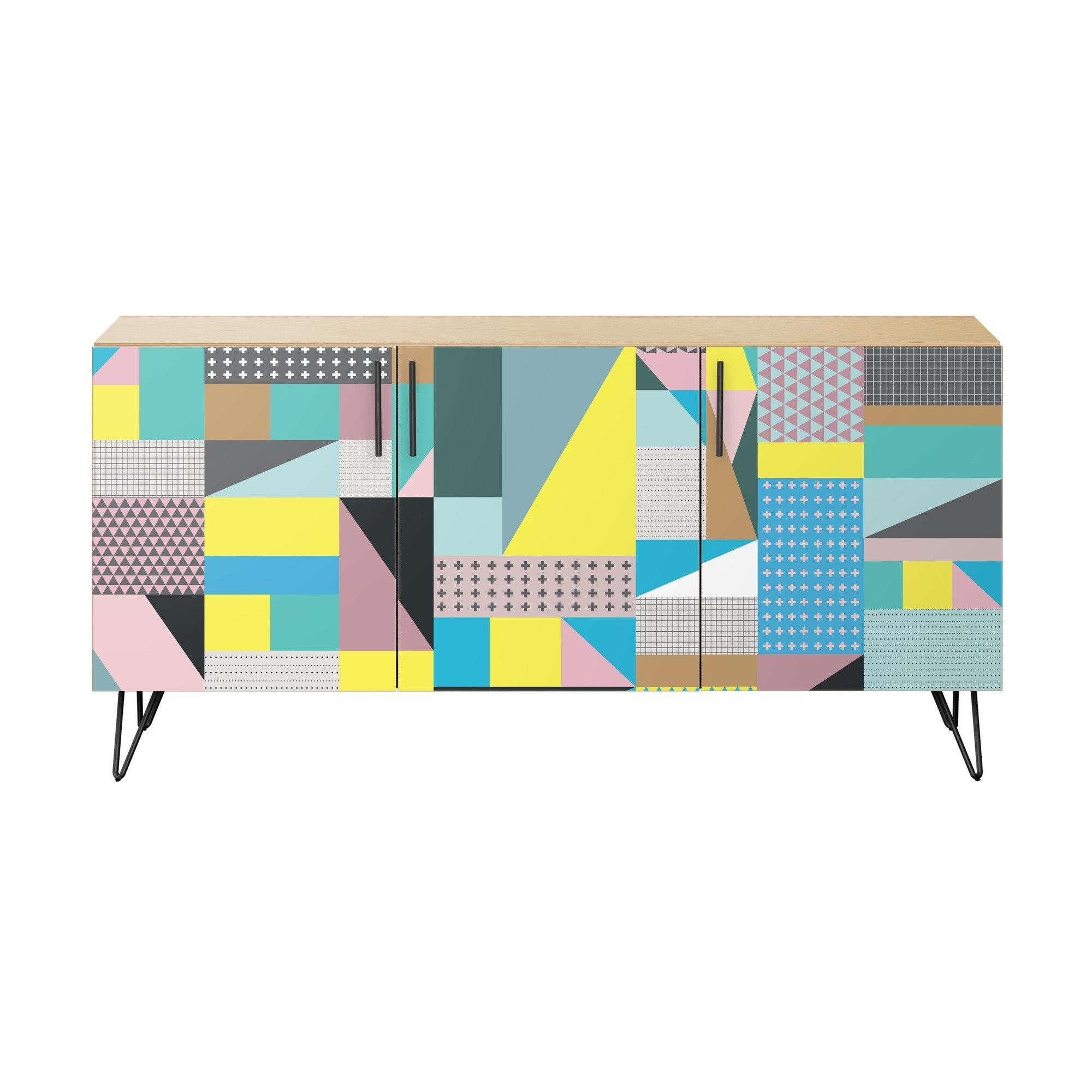 Brayden Studio Meeks Sideboard   Wayfair For Newest Teagan Sideboards (View 15 of 20)