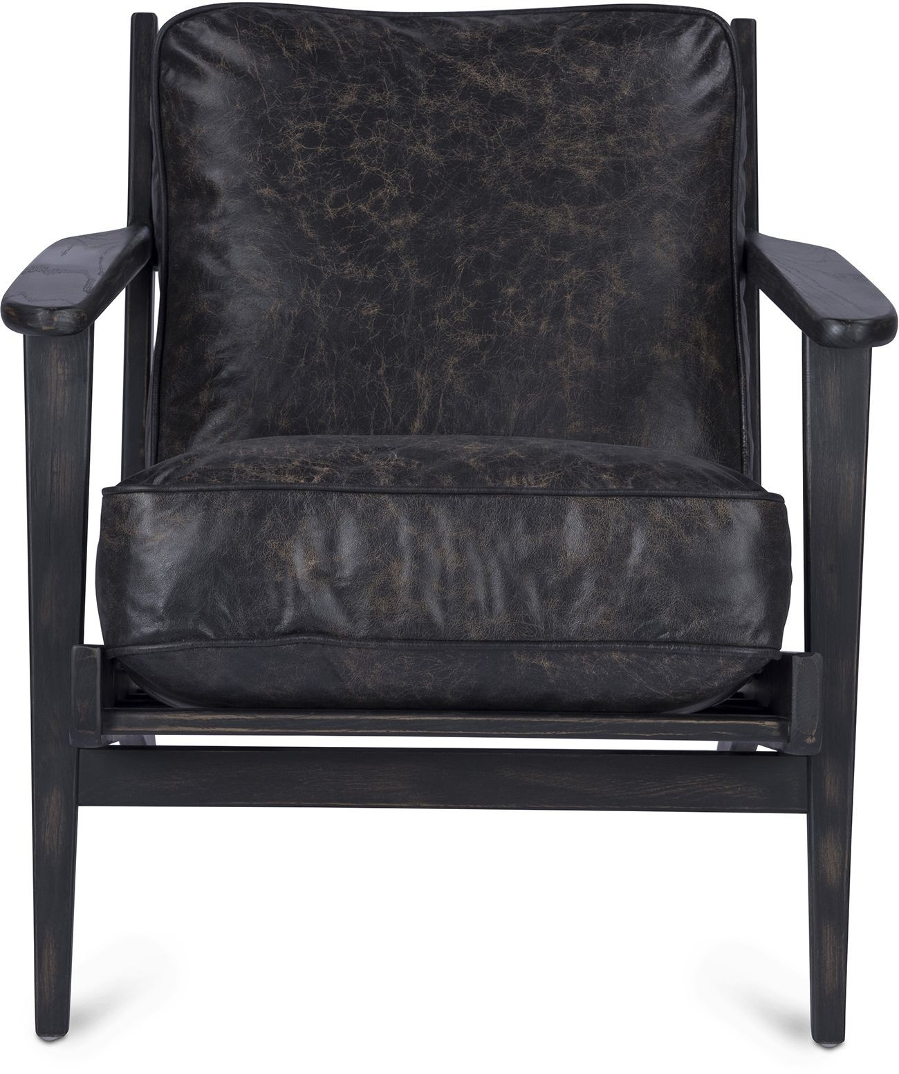 Brooks Lounge Chair Pertaining To Famous Laurent Wood Side Chairs (#5 of 20)