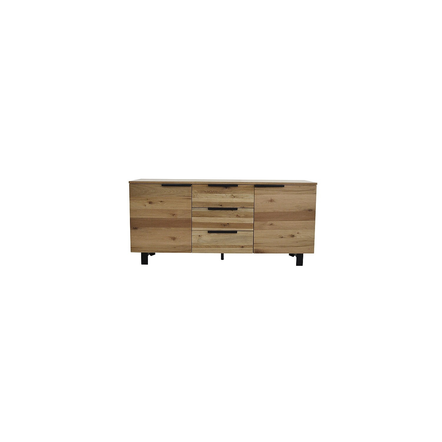 Buffets Throughout Most Up To Date 4 Door 3 Drawer White Wash Sideboards (#1 of 20)