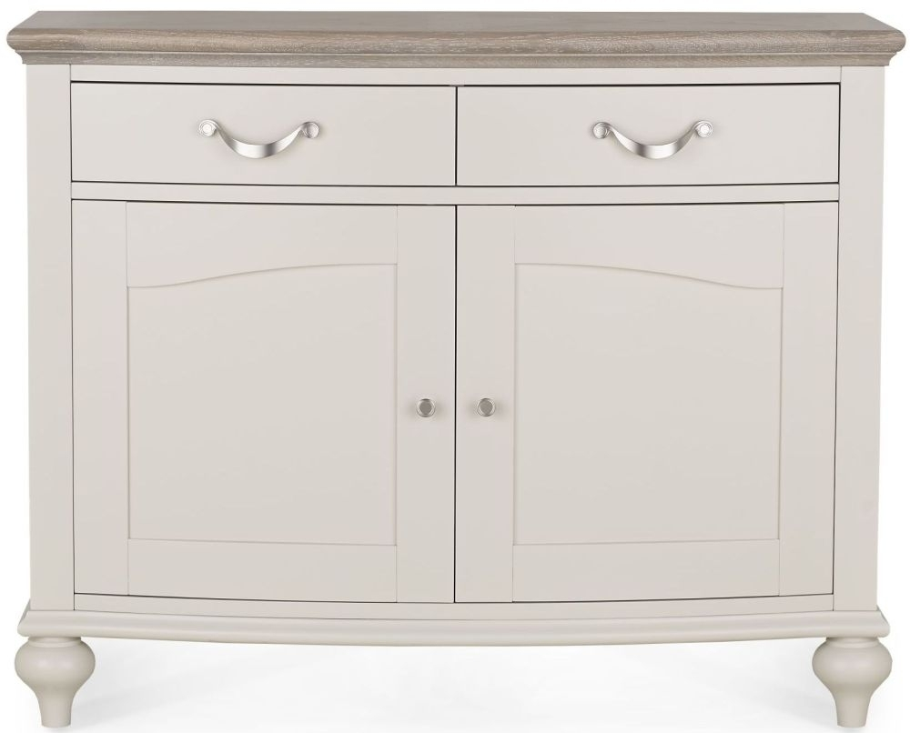 Buy Bentley Designs Montreux Grey Washed Oak And Soft Grey 2 Door Intended For Recent 2 Door White Wash Sideboards (View 20 of 20)