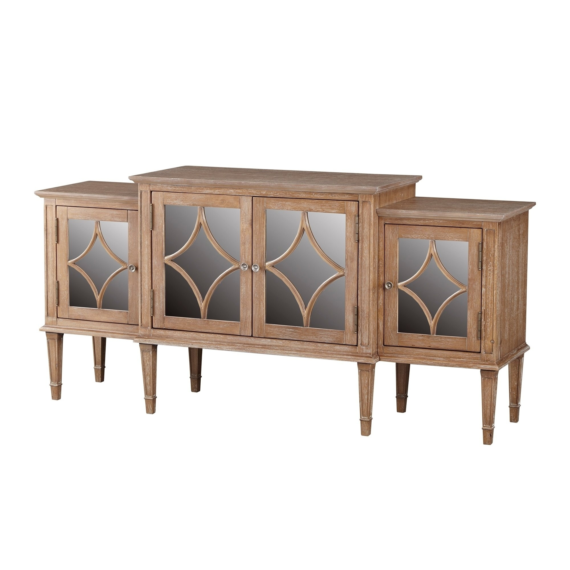 Buy Buffets, Sideboards & China Cabinets Online At Overstock With Regard To Current Light Brown Reclaimed Elm & Pine 84 Inch Sideboards (View 13 of 20)