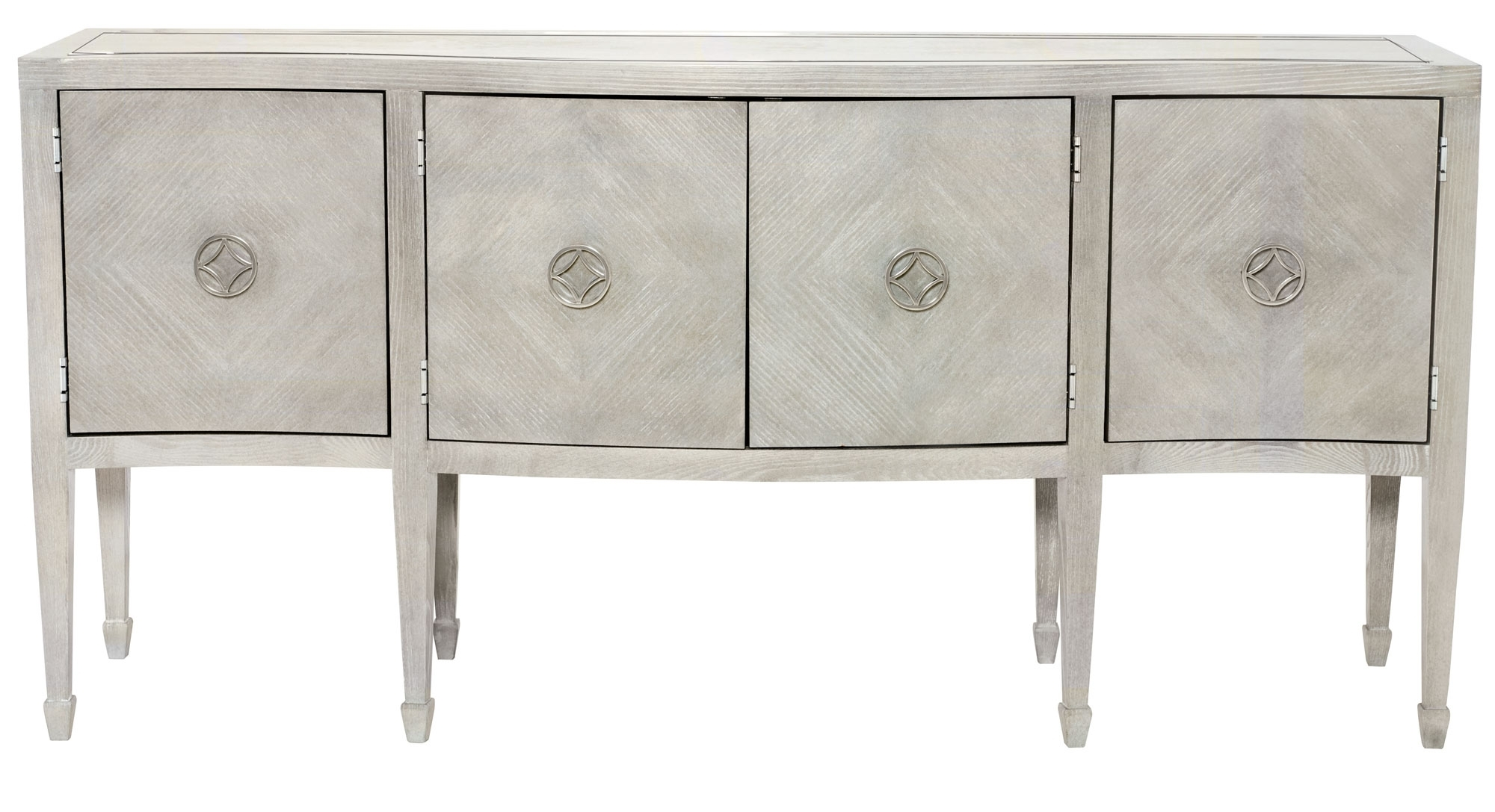 Cabinets, Consoles & Sofa Tables | Htgt Furniture For Best And Newest Gunmetal Perforated Brass Sideboards (#3 of 20)