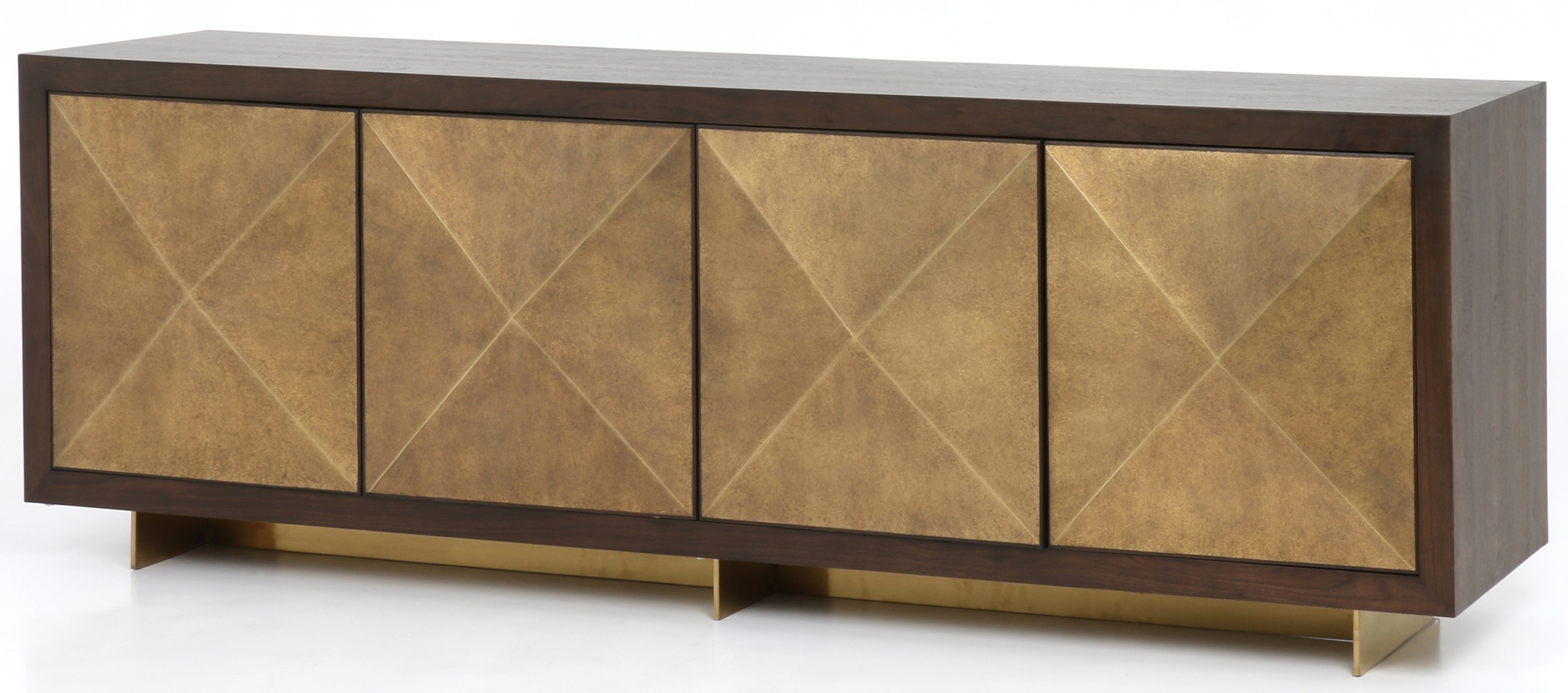 Cabinets, Consoles & Sofa Tables | Htgt Furniture For Most Popular Gunmetal Perforated Brass Sideboards (#5 of 20)