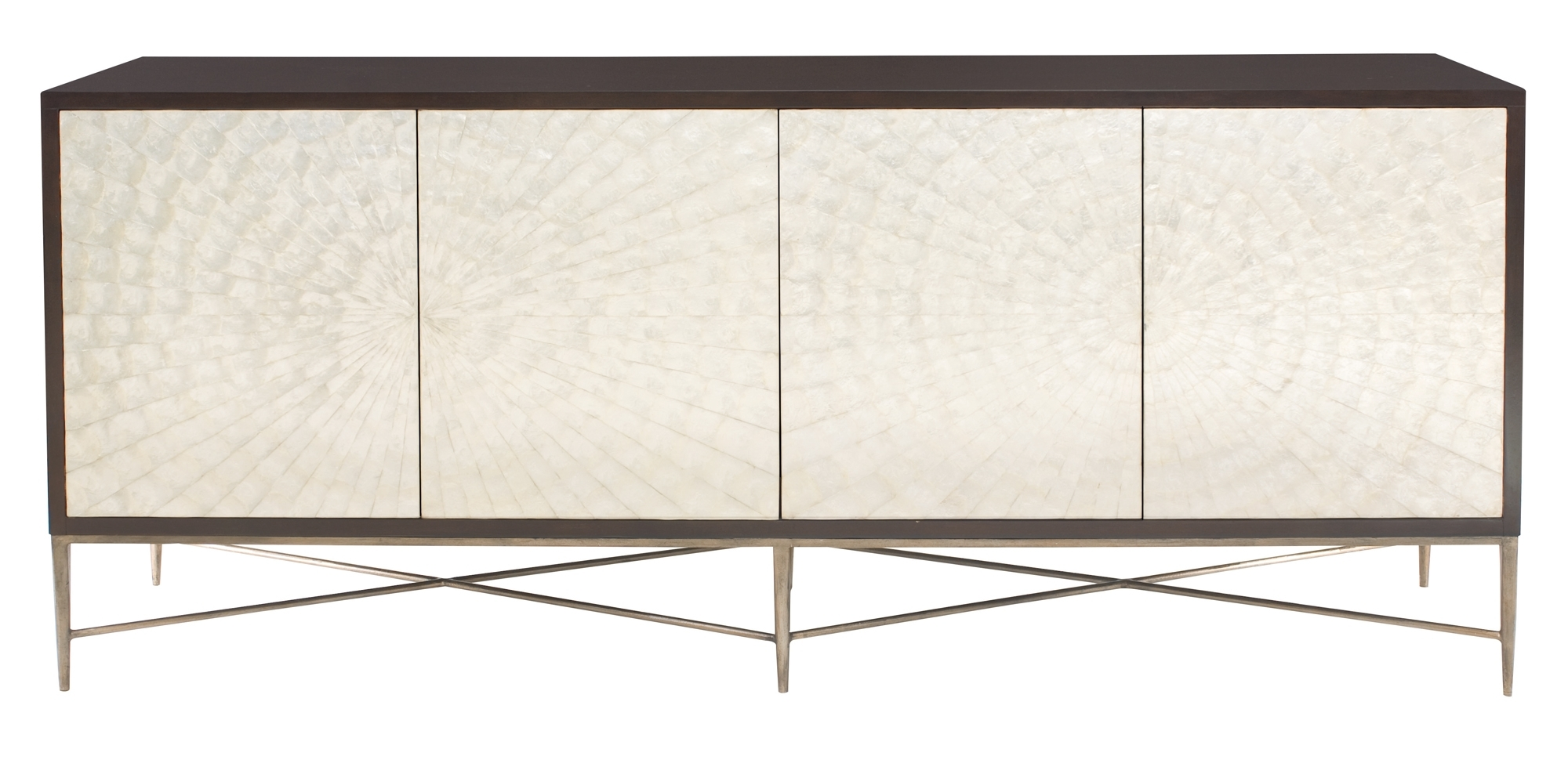 Cabinets, Consoles & Sofa Tables | Htgt Furniture Regarding Latest Gunmetal Perforated Brass Sideboards (#9 of 20)
