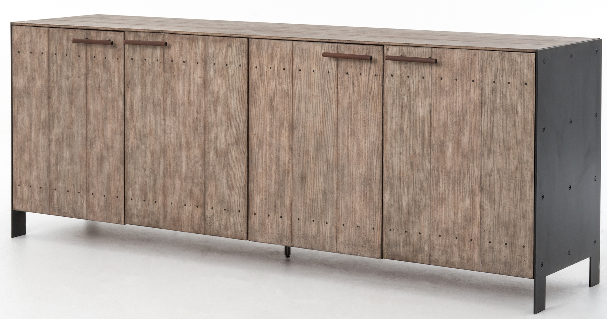 Cabinets, Consoles & Sofa Tables | Htgt Furniture Throughout Most Up To Date Gunmetal Perforated Brass Sideboards (#11 of 20)