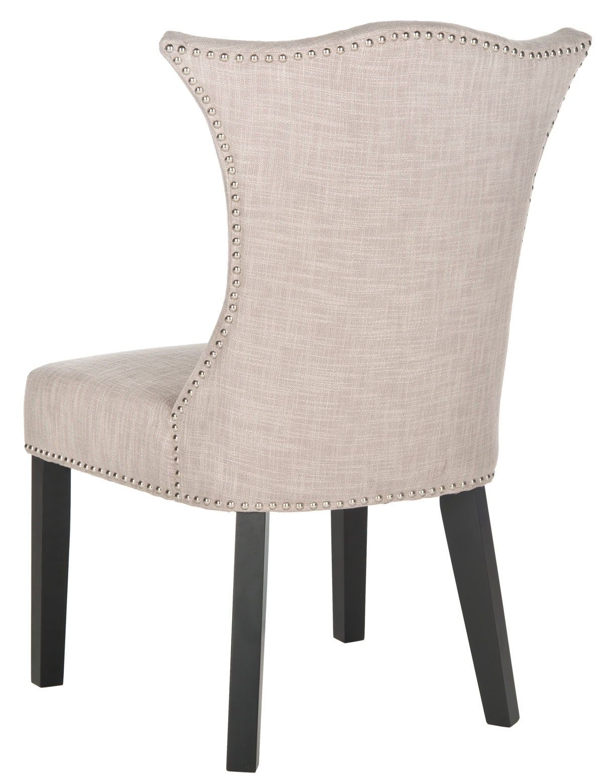 Caira Black Upholstered Arm Chairs Regarding Well Liked Mcr4717A Set2 Dining Chairs – Furnituresafavieh (#3 of 20)