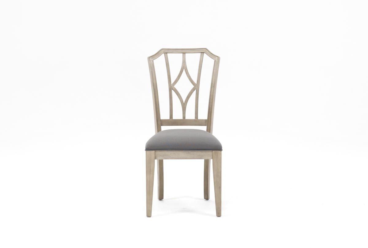 Popular Photo of Caira Upholstered Diamond Back Side Chairs