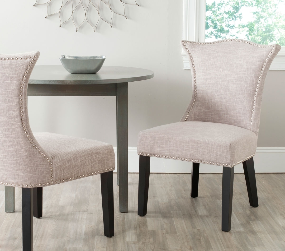 Caira Upholstered Diamond Back Side Chairs Regarding Popular Mcr4717A Set2 Dining Chairs – Furnituresafavieh (View 6 of 20)