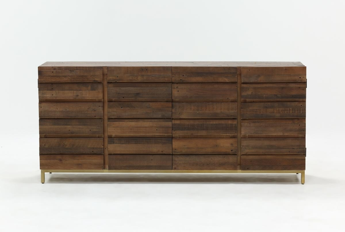 Calhoun Sideboard | Living Spaces With Most Recently Released 4 Door/4 Drawer Cast Jali Sideboards (#2 of 20)