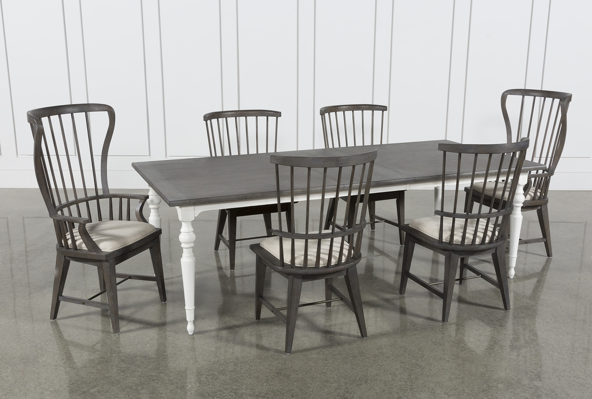 Candice Ii 7 Piece Extension Rectangle Dining Set (#4 of 20)