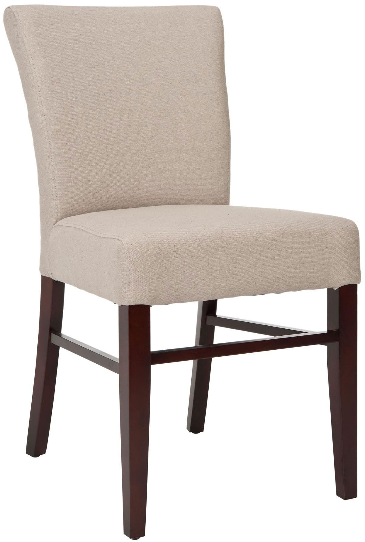 Candice Ii Upholstered Side Chairs With Best And Newest Safavieh Teagon Side Chair – Set Of  (#6 of 20)