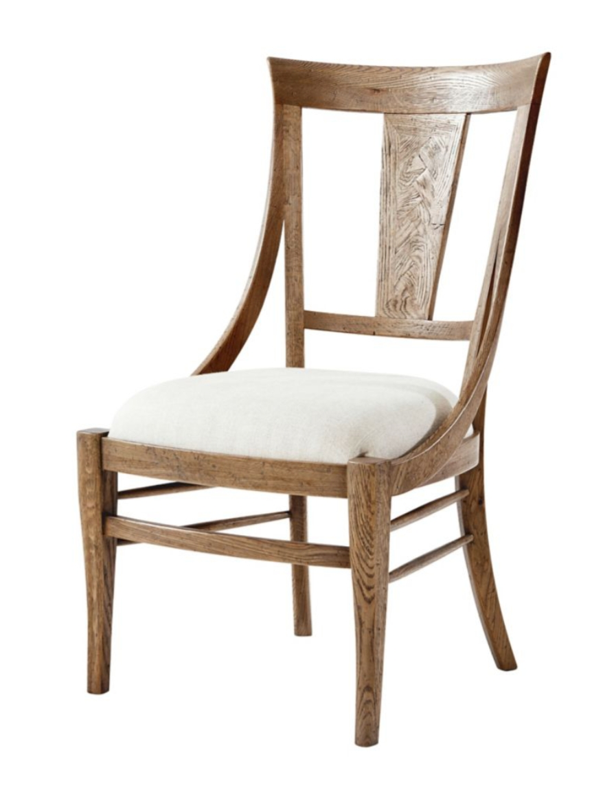Popular Photo of Carmel Oak Side Chairs