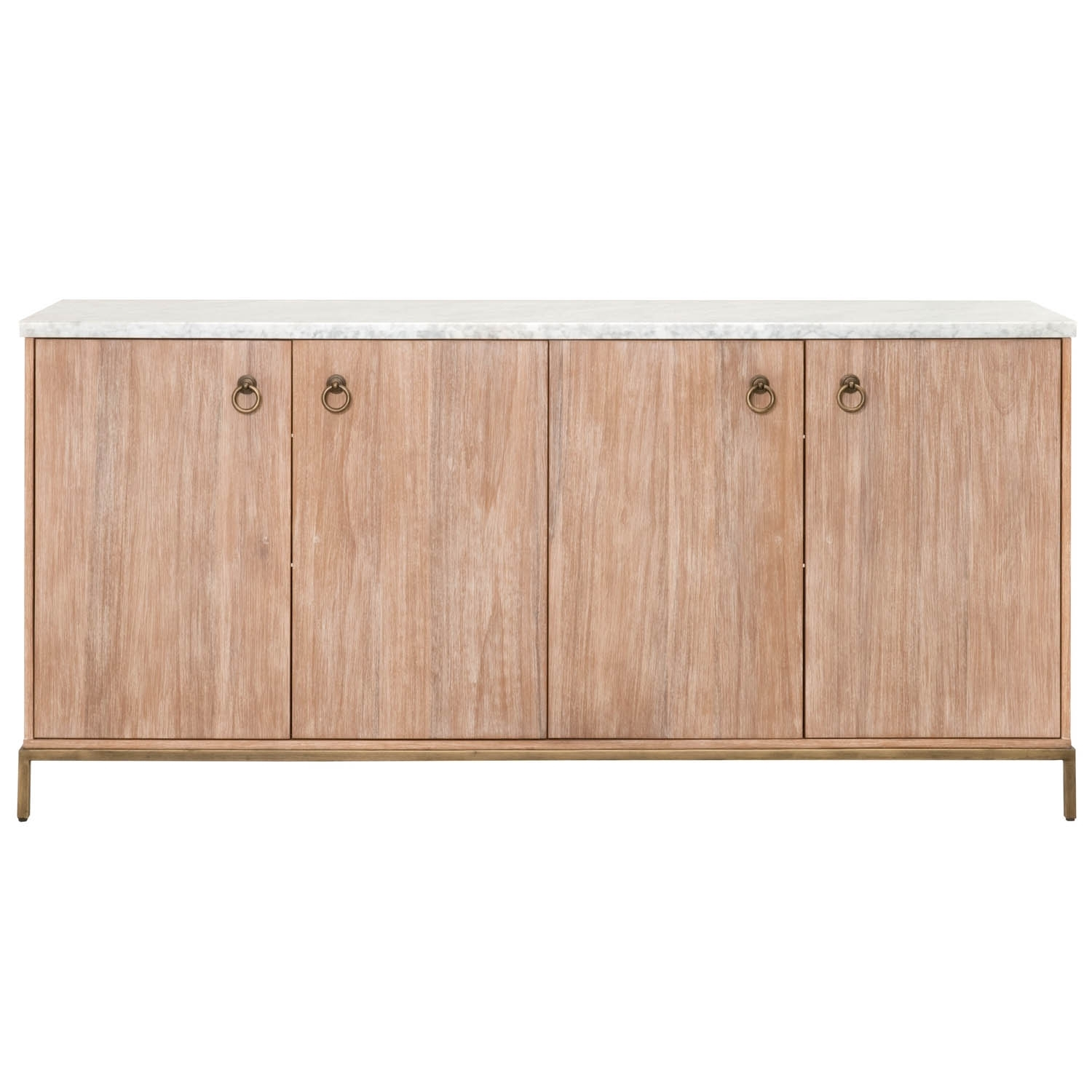 Carrera Media Sideboard Pertaining To Best And Newest White Wash 2 Door Sideboards (#7 of 20)