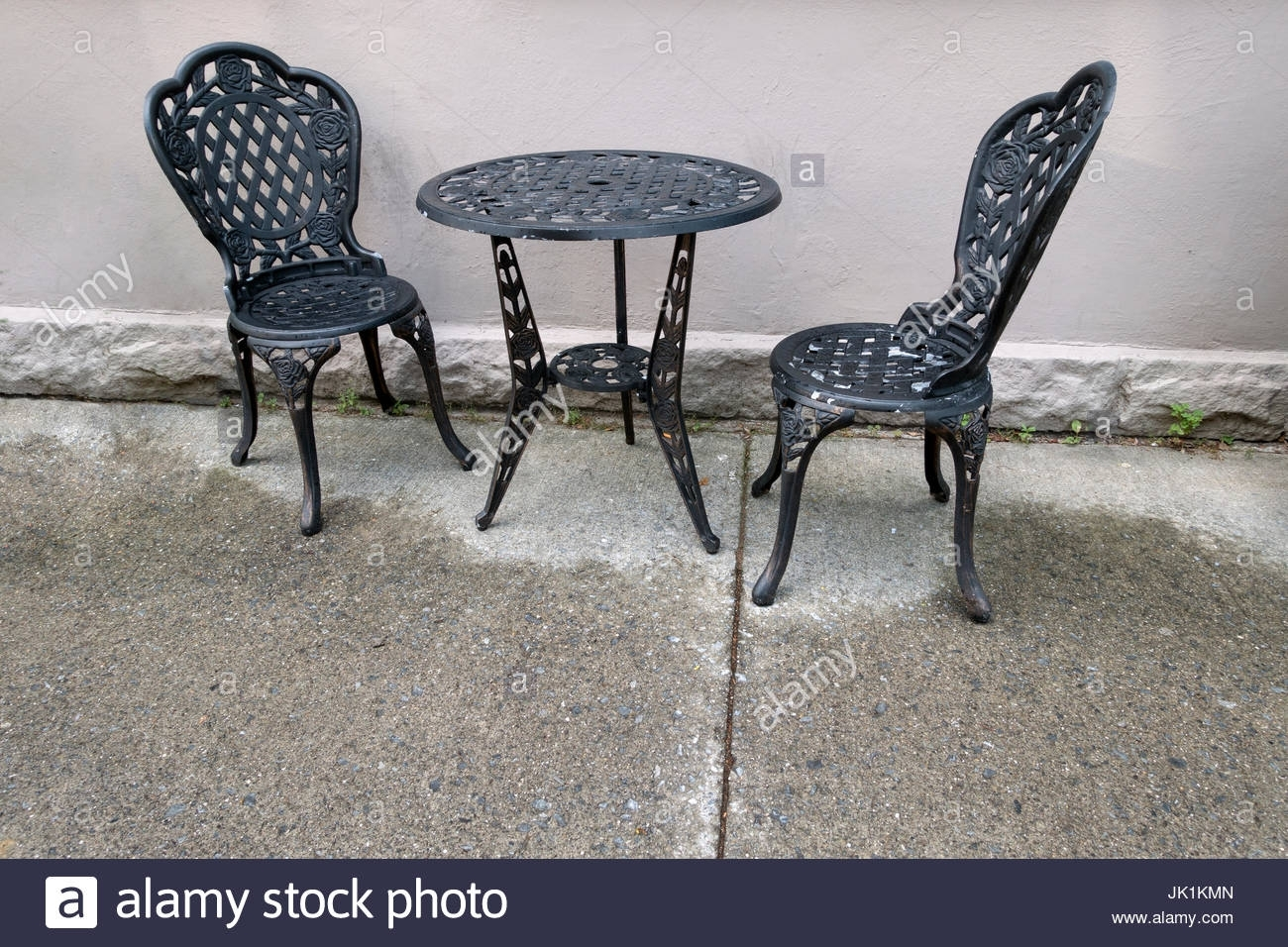 Cast Iron Chairs Stock Photos & Cast Iron Chairs Stock Images – Alamy Throughout Most Up To Date Chapleau Side Chairs (#3 of 20)