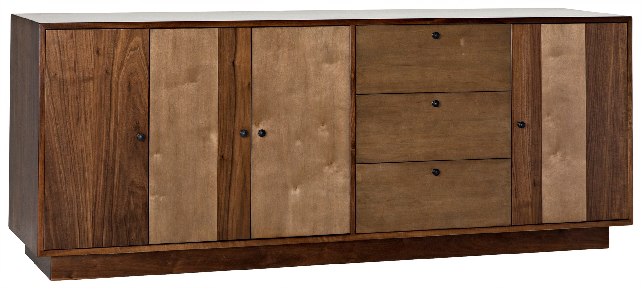 Cfc :: In Best And Newest Walnut Finish 4 Door Sideboards (View 17 of 20)