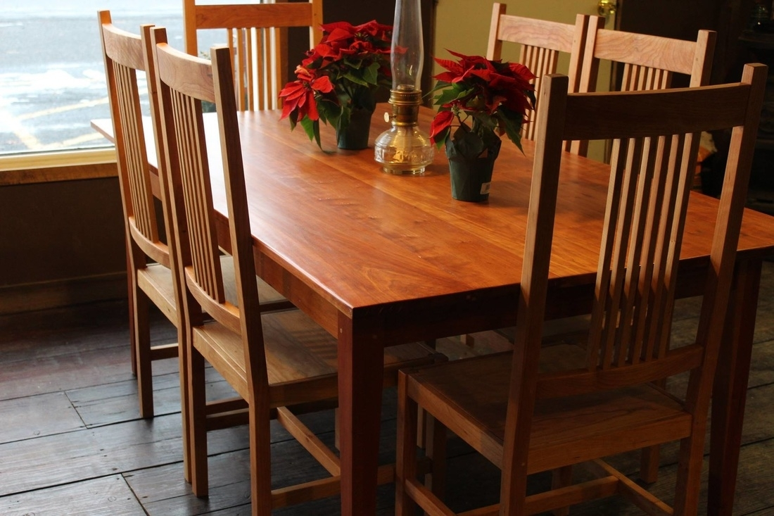 Chairs/benches – The Shaker Craftsman Intended For Popular Craftsman Side Chairs (#2 of 20)