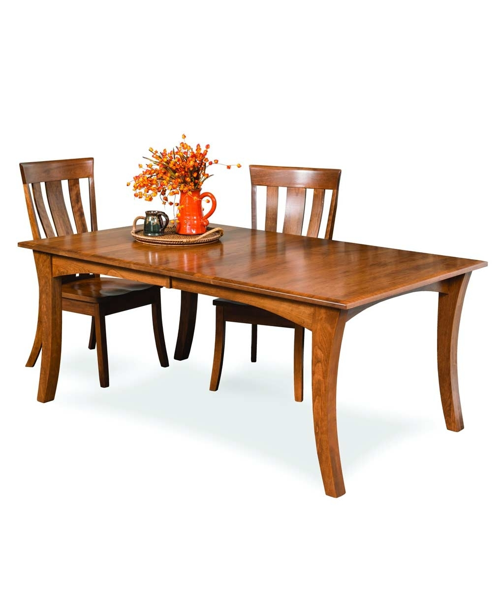 Chandler Dining Table – Amish Direct Furniture Regarding Latest Chandler Wood Side Chairs (#3 of 20)