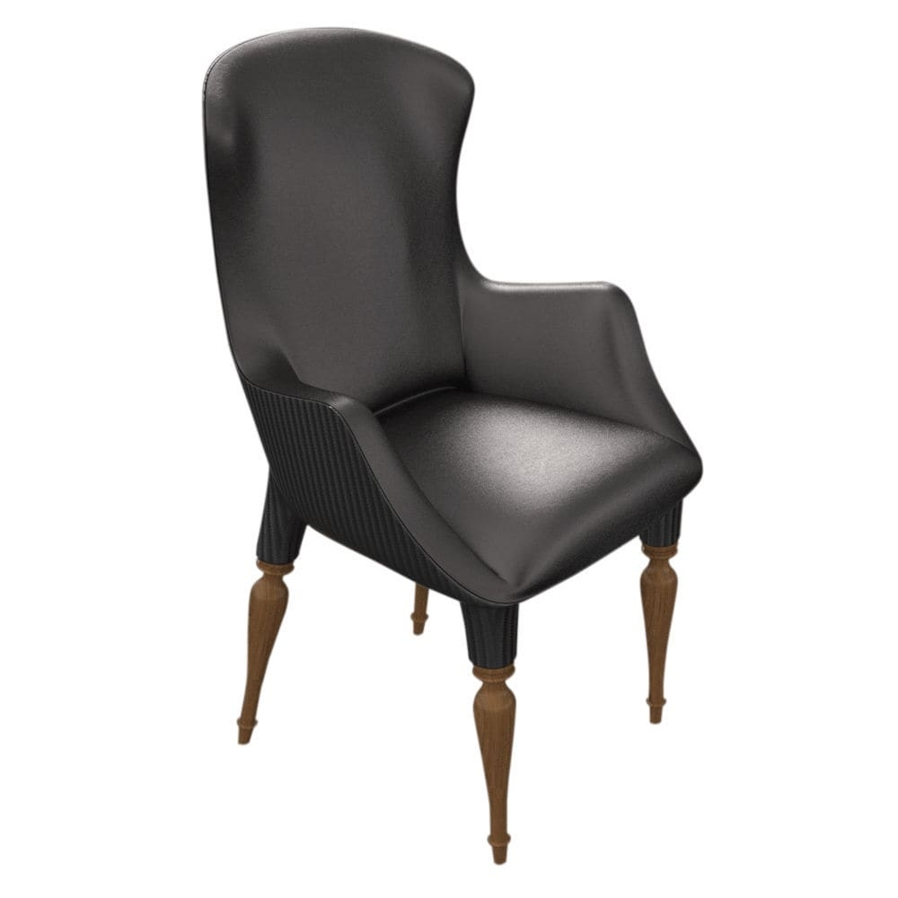 Chapleau Side Chairs Intended For 2018 Traditional Office Chair / High Back / Fabric / Leather – Versailles (View 6 of 20)