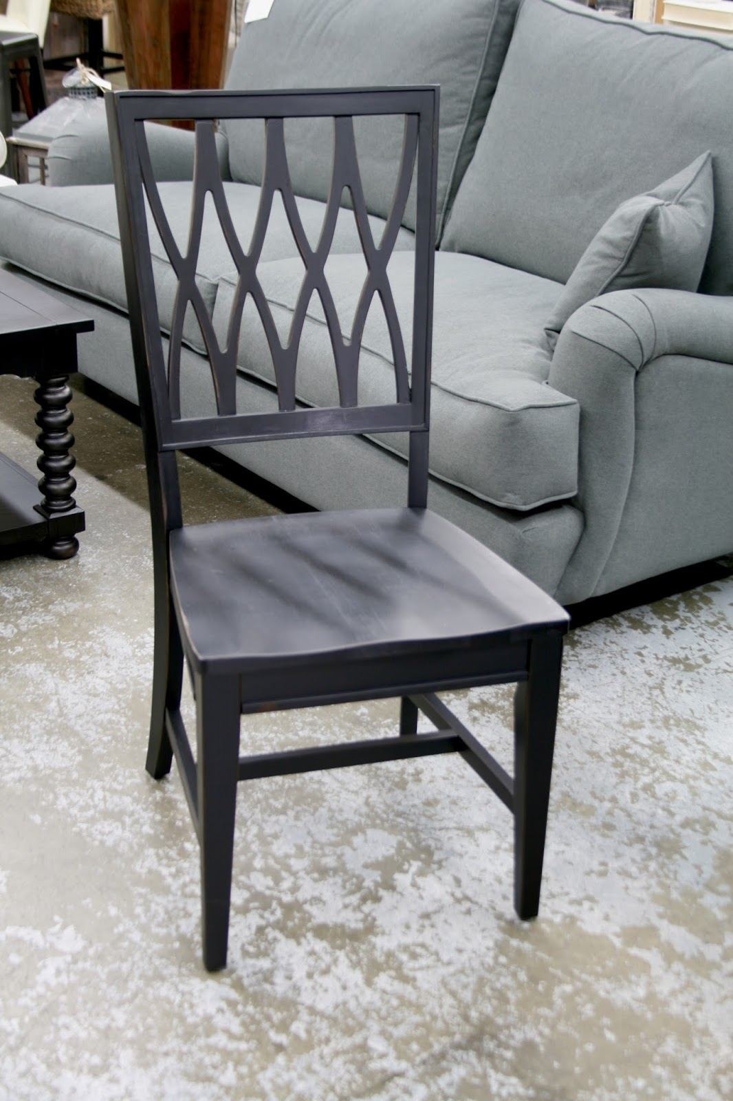 Chartreuse Home Furnishings: Dining In Style! With Best And Newest Magnolia Home Camden Side Chairs (#1 of 20)
