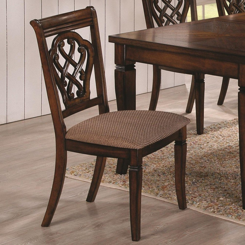 Cheap Upholstered Dining Chair, Find Upholstered Dining Chair Deals Intended For Popular Hayden Cognac Side Chairs (View 2 of 20)