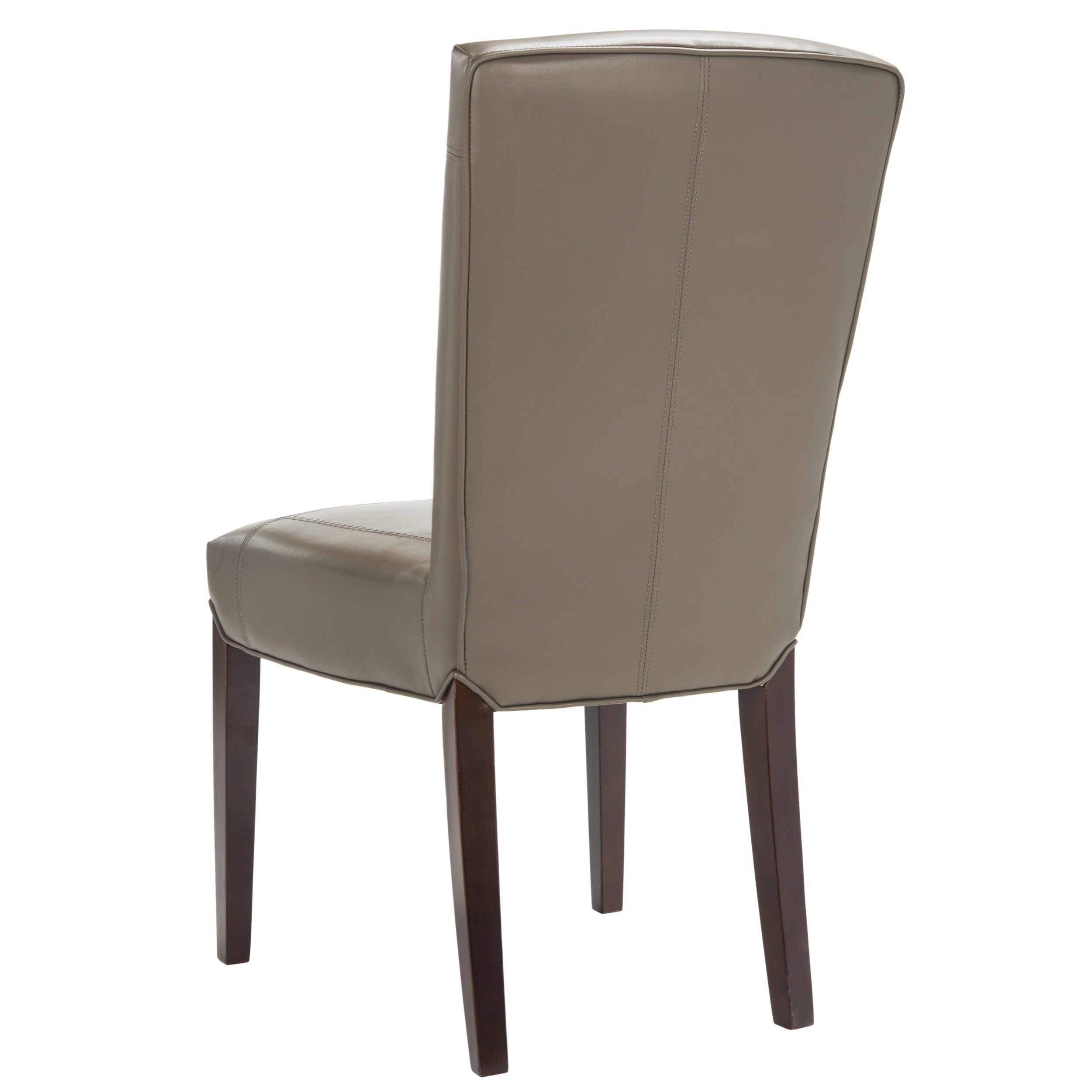 Clay Side Chairs With Regard To Latest Shop Safavieh Parsons Dining Bowery Brown Clay Leather Dining Chairs (#5 of 20)