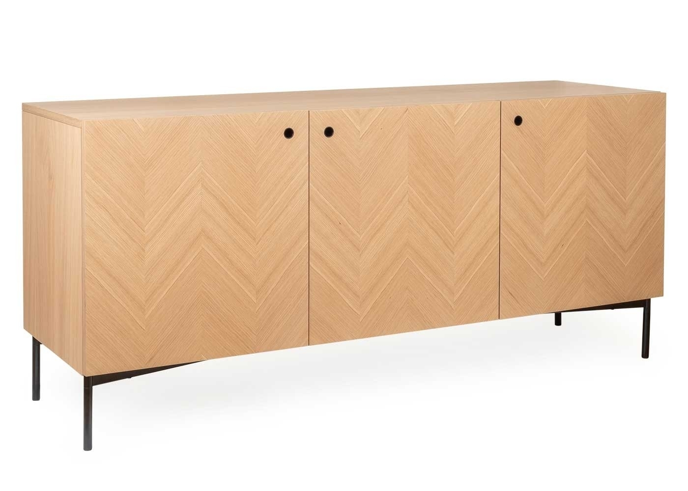 Clifton Sideboard Throughout 2018 Brown Chevron 4 Door Sideboards (#8 of 20)
