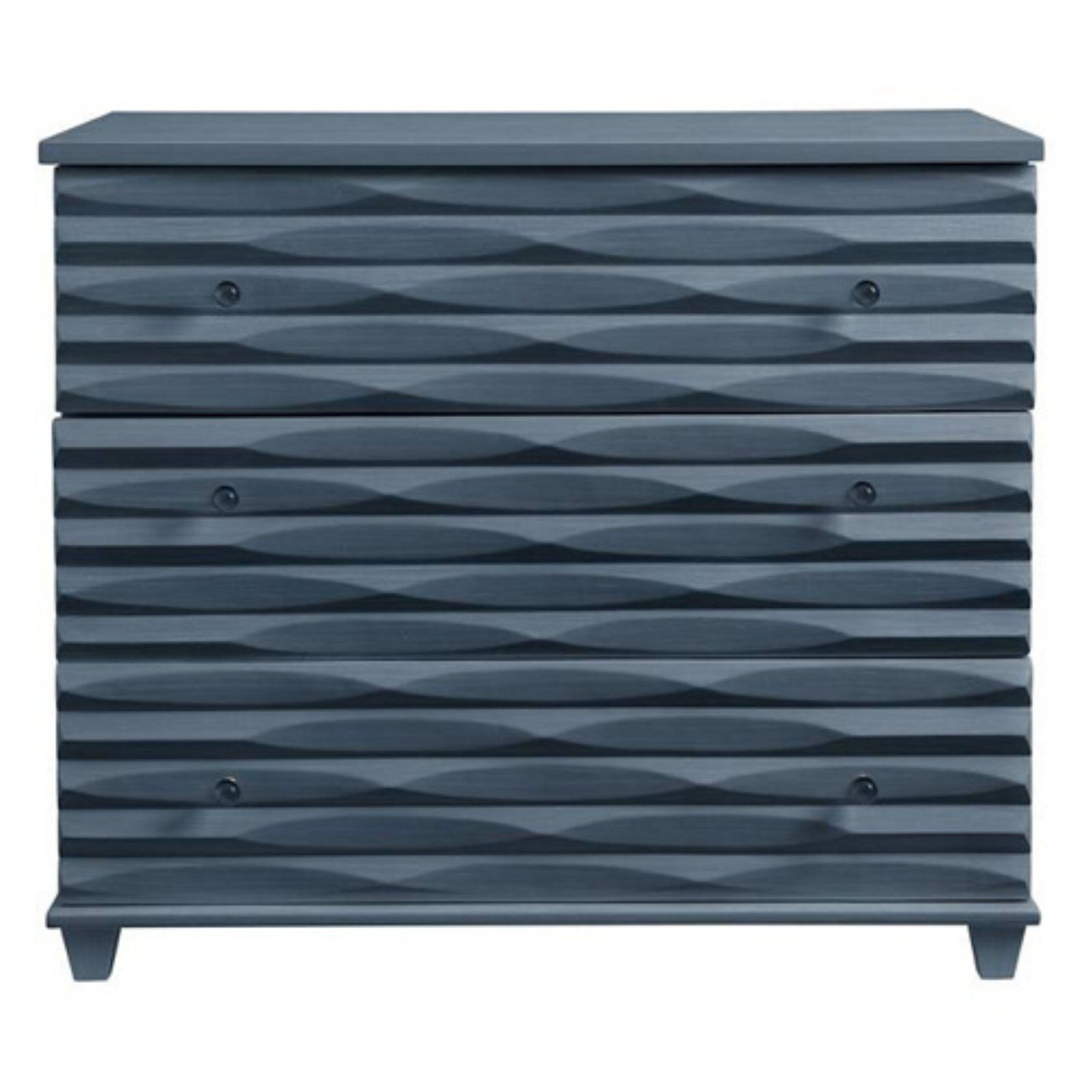 Coastal Livingstanley Furniture Oasis Tides 3 Drawer Dresser Inside Latest Geo Capiz Sideboards (#8 of 20)
