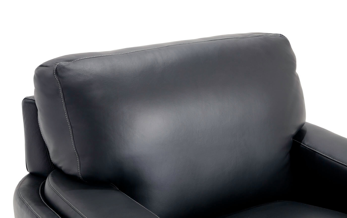 Cole Ii Black Side Chairs With Best And Newest Cole Leather Chair (#4 of 20)
