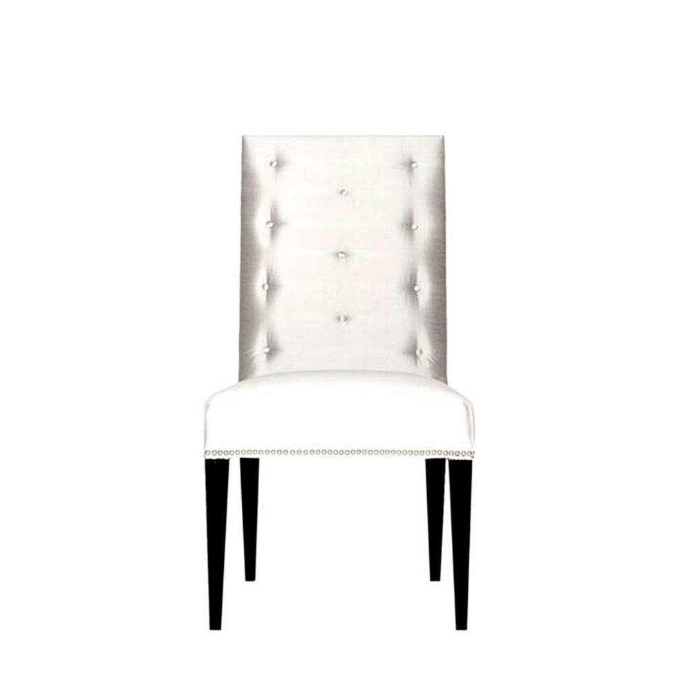 Cole Ii White Side Chairs Throughout Best And Newest Chair — Amir Khamneipur Design (View 14 of 20)