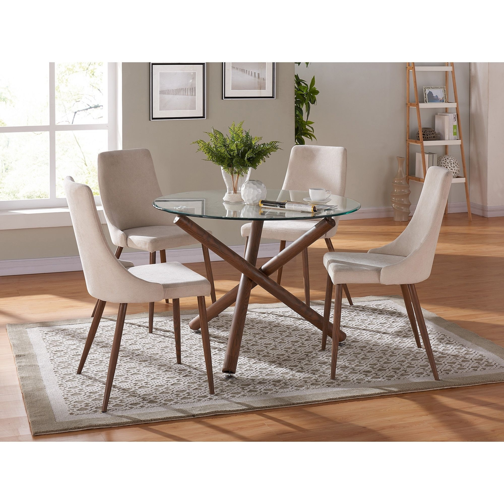 Cora Side Chairs Inside Current Worldwide Cora Side Chair Set Of 2 (Cora Side Chair St Of 2 – Beige (View 8 of 20)