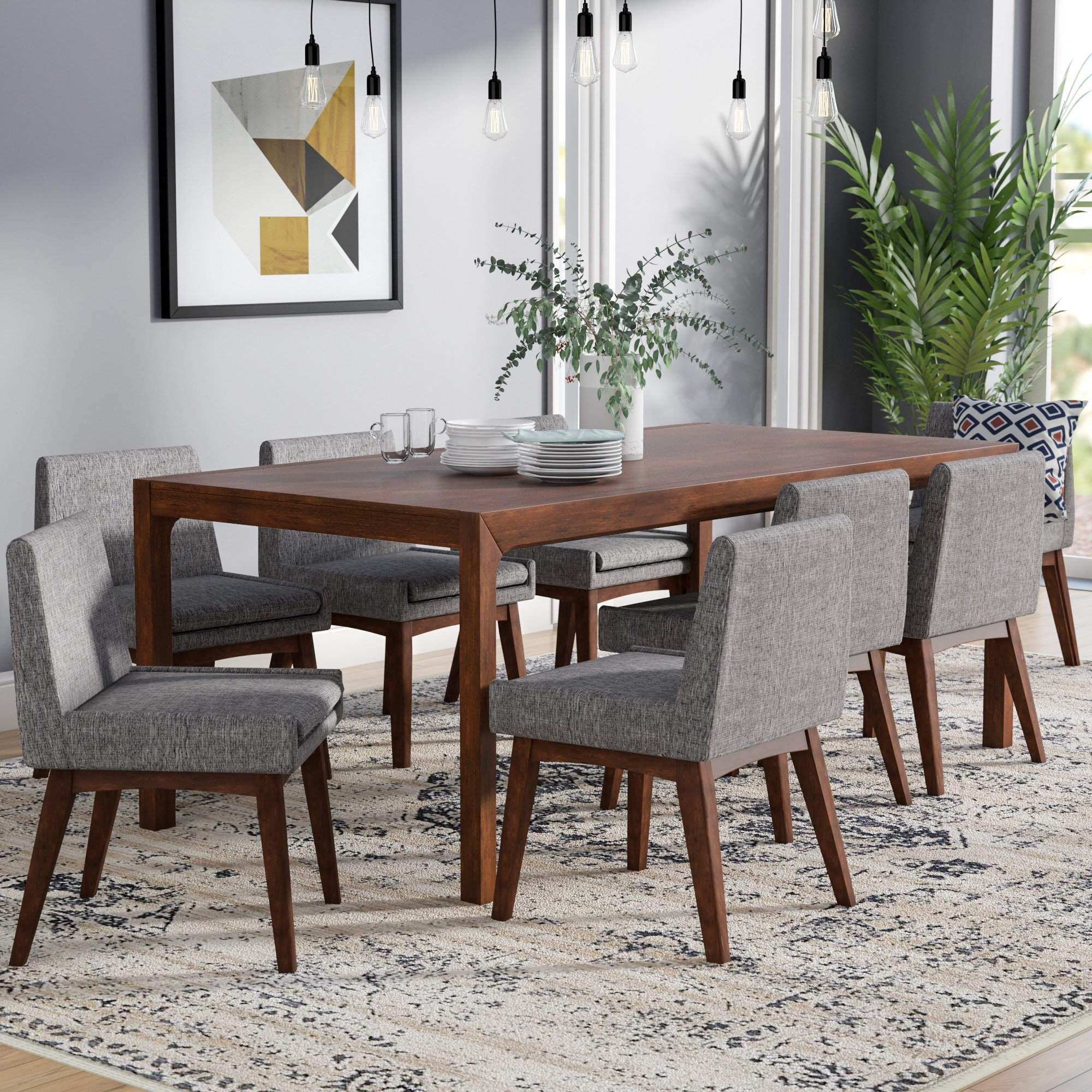 Corrigan Studio Perla 9 Piece Dining Set (#1 of 20)