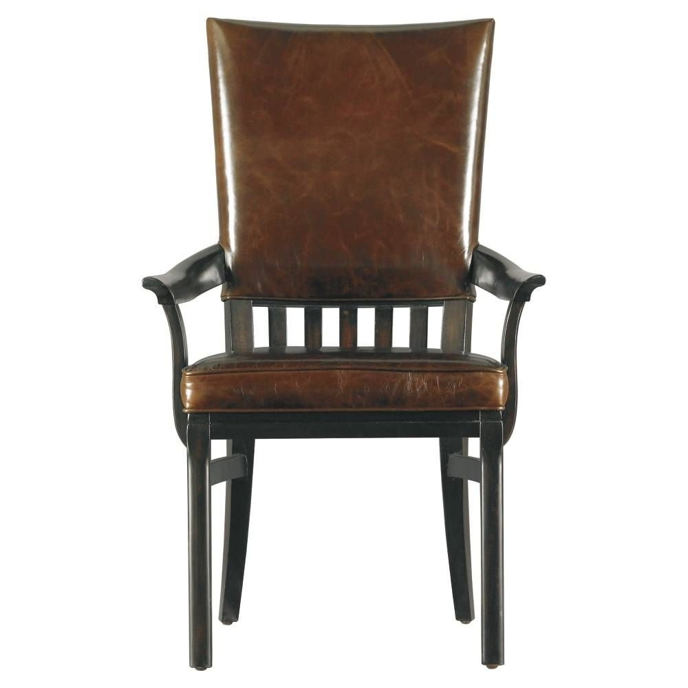 Craftsman Arm Chairs Intended For Latest Modern Craftsman Morris School Arm Chair – Stanley Furniture (#5 of 20)