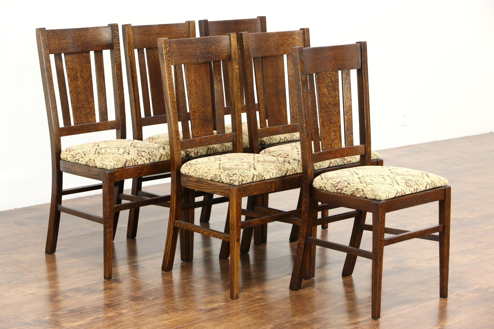 Craftsman Side Chairs Inside Most Recently Released Arts And Crafts Dining Chairs – Nashgrad (#5 of 20)