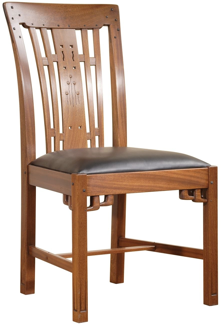 Craftsman Upholstered Side Chairs In Well Liked Stickley – An 7353 S 131, Blacker House Side Chair (#4 of 20)