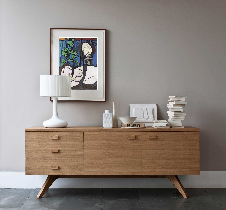 Cross Sideboardmatthew Hilton | Case Furniture Regarding Most Recent 2 Door Mirror Front Sideboards (#5 of 20)