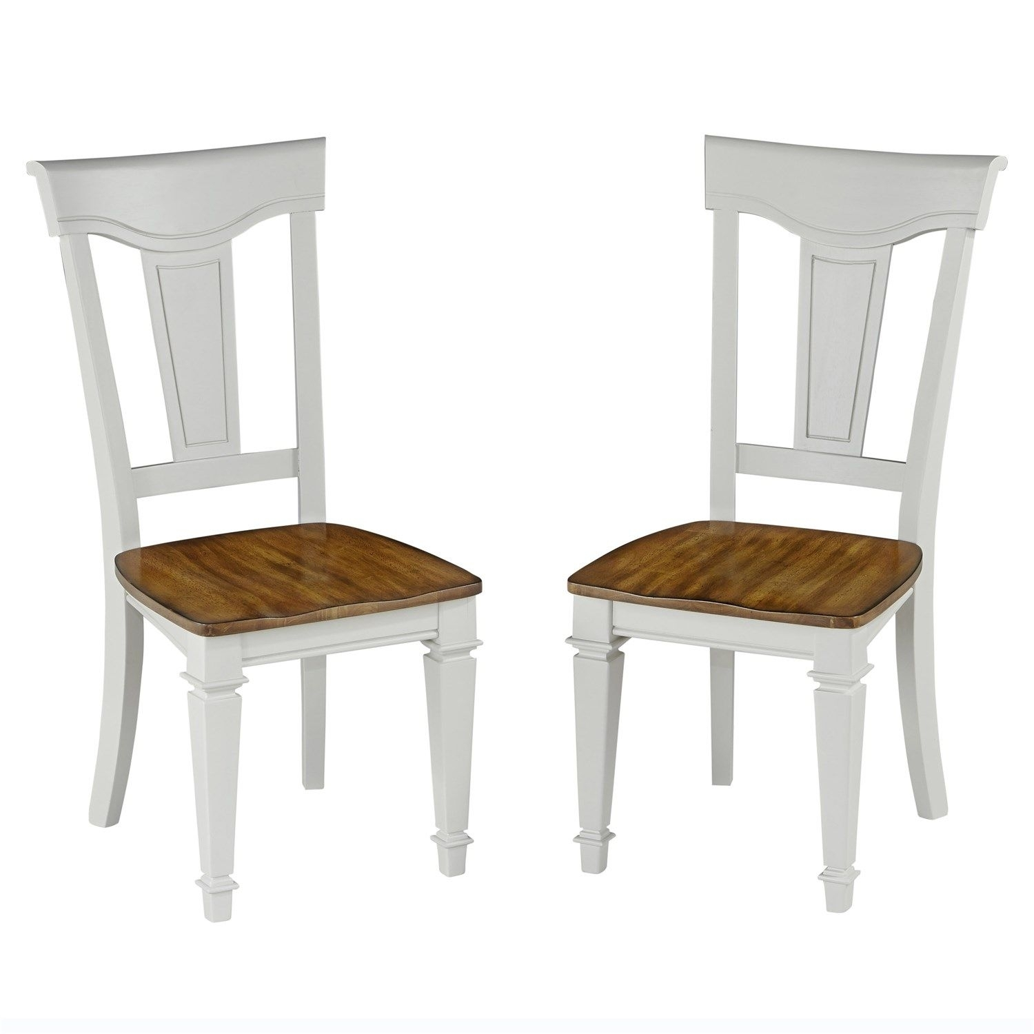 Current Bowery Ii Side Chairs Within Home Styles 5002 802 Americana Dining Chair – Set Of  (#8 of 20)