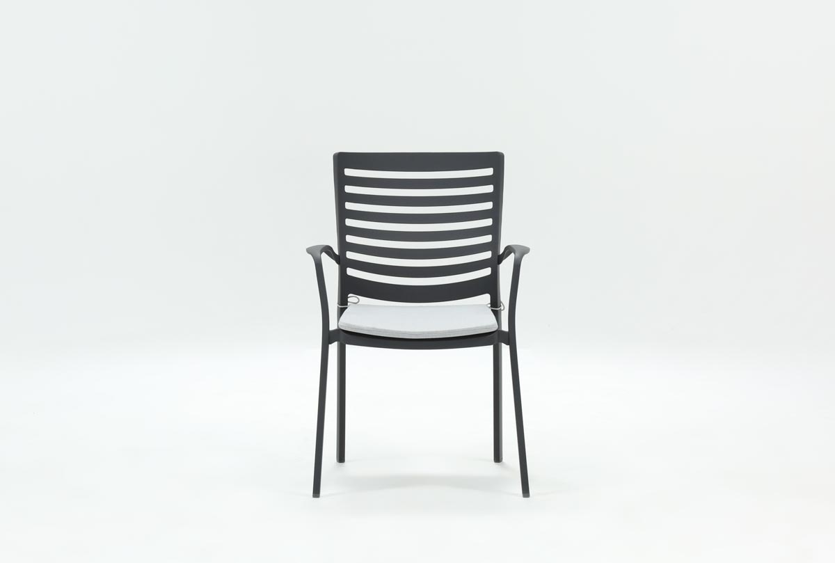 Current Candice Ii Slat Back Side Chairs Regarding Outdoor Andaz Dining Chair (#8 of 20)