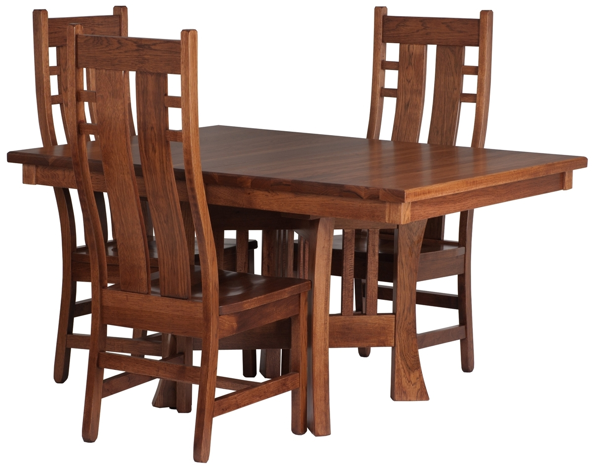 Current Craftsman Style Dining Room Table – Www (#9 of 20)