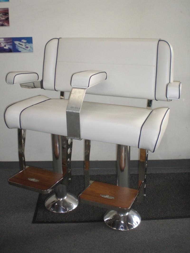 Current Helms Side Chairs Pertaining To Sea Furniture Sea Marine Hardware – Double Wide Helm Chairs (#2 of 20)